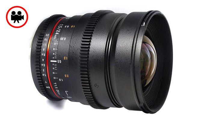 Samyang 24mm T1.5 Geniş Açı Sinema Serisi Objektif | filmekipmanlari.com  Rezervasyon & Bilgi için: 0533 548 70 01 info@filmekipmanlari.com http://filmekipmanlari.com/kiralik-samyang-24mm-t1-5-lens/