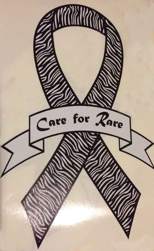 Order your Rare Disease Ribbon Decal and show the world that you Care for Rare!  Rare_disease_-_care_for_rare_decal_small