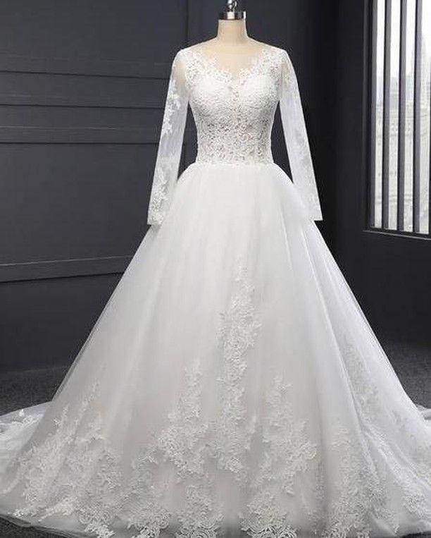 Toffa Wedding Posted On Their Instagram Profile 1500ريال متجر توفا السعر عبر الخاص او واتساب الط Ball Gowns Wedding Wedding Dresses Perfect Wedding Dress