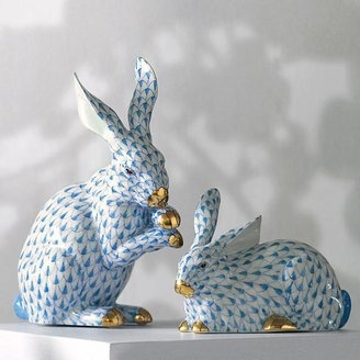 I just wish I could pull one of these Herend Rabbits out of my hat. #cute