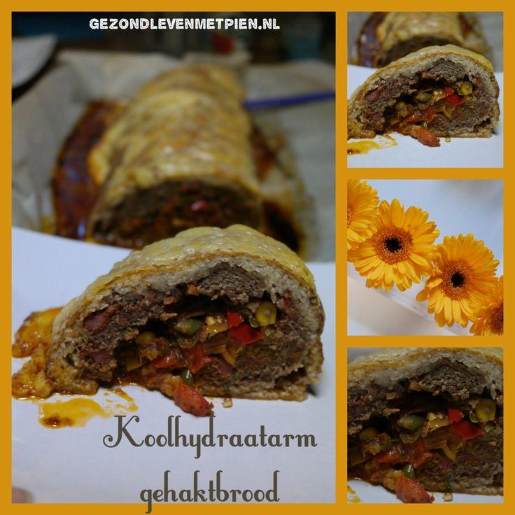 Koolhydraatarm gehaktbrood of granenvrije meatloaf