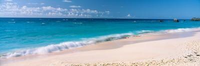 Waves on the Beach, Warwick Long Bay, South Shore Park, Bermuda Photographic Print at Art.com