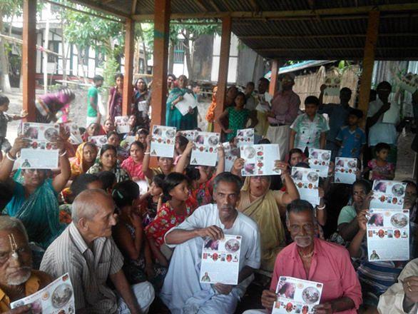 KAF Bangladesh at Radha Krishna Temple | Kalki Avatar Foundation