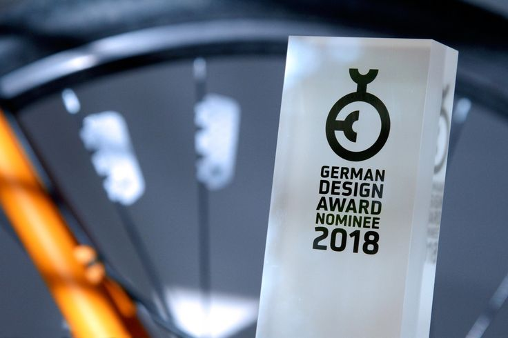 FLECTR ZERO has been nominated for the GERMAN DESIGN AWARD 2018 by the German Design Council. www.flectr.bike