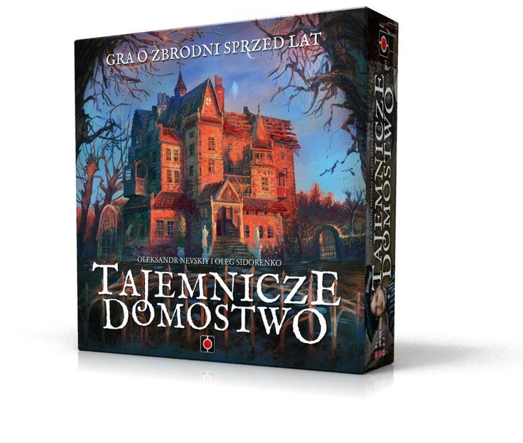 Tajemnicze Domostwo boardgame. Artwork: Igor Burlakov. Design: Rafał Szyma