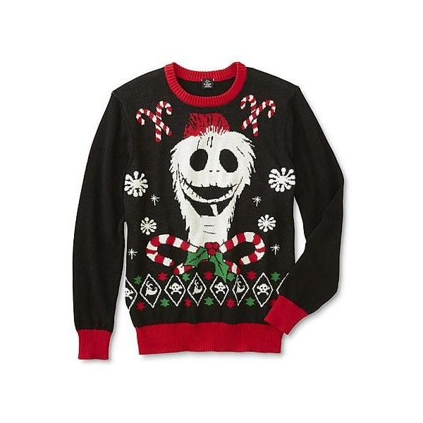 Disney The Nightmare Before Christmas Young Men's Ugly Christmas... (83 BRL) ❤ liked on Polyvore featuring men's fashion, men's clothing, men's sweaters, mens christmas sweaters, mens sweaters and mens ugly christmas sweater
