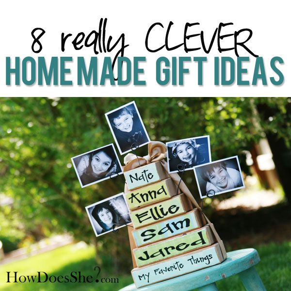 8 Clever Homemade Gift Ideas! | How Does She