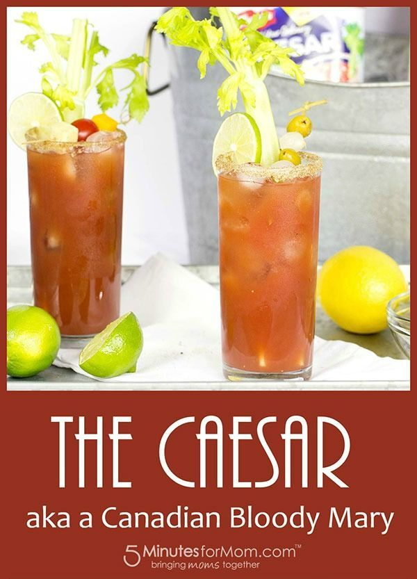 Caesar Cocktail Recipe - Canadian Bloody Mary recipe. Here is how to make a classic Caesar as well as an extra tasty treat... a Bacon and Egg Caesar Cocktail. Sponsored.