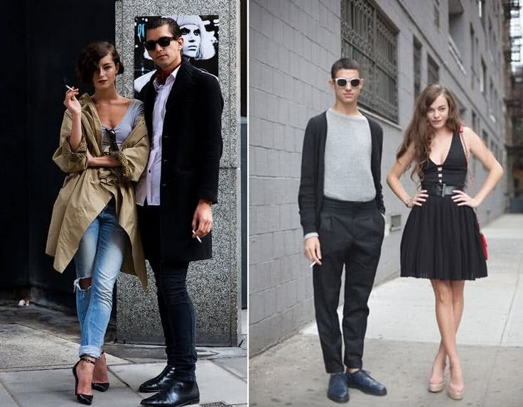 Couple Fashionable Fashion Couple Pinterest