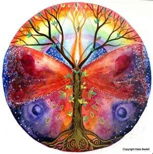 Tree mandalas