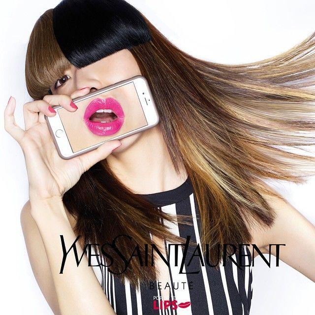 いいね!823件、コメント3件 ― LESLIE KEE ★ SLK BOYSさん(@lesliekeesuper)のInstagramアカウント: 「Yves Saint Laurent Beauté x LESLIE KEE 「Pop Up Your Lips」beauty & art project  featuring 18 artists…」