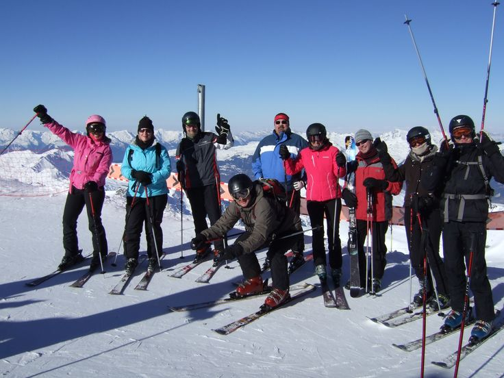 I go skiing with my friends every year :0)