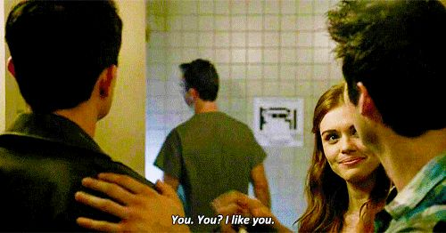 "Teen Wolf Season 4 Episode 06 ""Orphaned"" Stiles, Lydia, and Deputy Parrish"