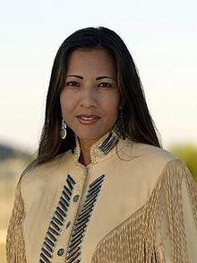 Mary Kim Titla (born November 24, 1960) is an American publisher, journalist, former TV reporter, and was a 2008 candidate for Arizona's First Congressional District. She is an enrolled member of the San Carlos Apache Tribe.[1]