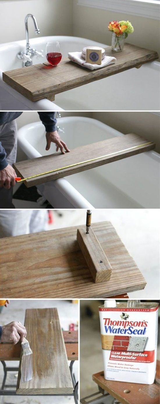 15 DIY Projects To Turn Your Bathroom Into A SpaDiane Welch
