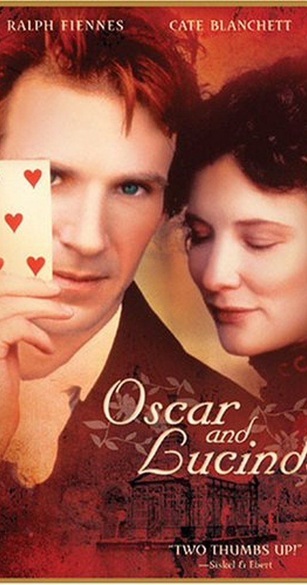 In mid-1800s England, Oscar is a young Anglican priest, a misfit and an outcast, but with the soul of an angel. As a boy, even though from a strict Pentecostal family, he felt God told him through a sign to leave his father and his faith and join the Church of England. Lucinda is a teen-aged Australian heiress. My rating 7/10. Trailer https://www.youtube.com/watch?v=sxG8kX0yUpc