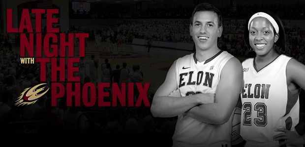 Don't miss your first chance to see the 2013-14 Elon University men's and women's basketball teams at Late Night with the Phoenix, to be held on Friday, Oct. 18, at Alumni Gym. Read more: http://www.elonphoenix.com/news/2013/10/9/MBB_1009132913.aspx