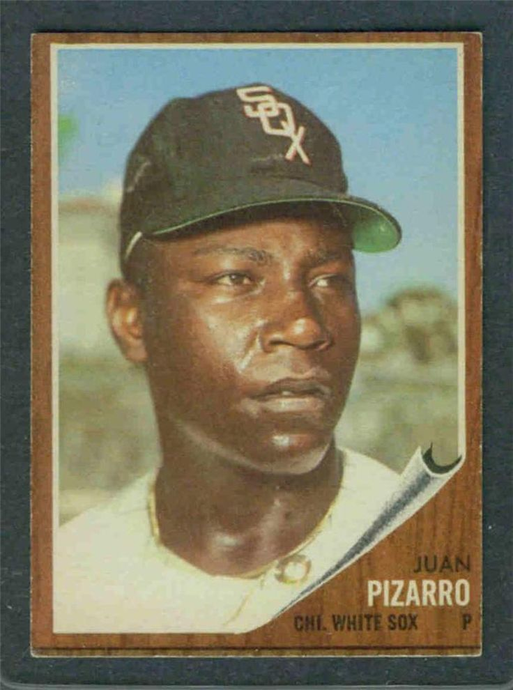 1962 Topps #255 Juan Pizarro (White Sox)   Ex+ (Flat Rate Shipping) | Sports Mem, Cards & Fan Shop, Sports Trading Cards, Baseball Cards | eBay!
