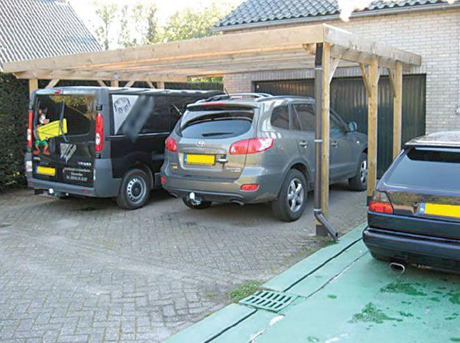 Double Free standing Carport