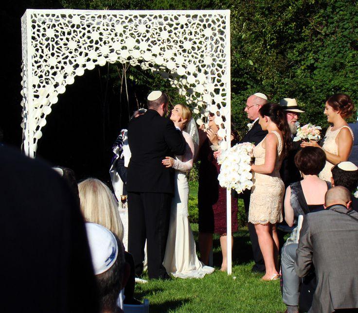 Absolutely gorgeous huppah! [ LuAnne and Dan's Bridgehampton Wedding ]