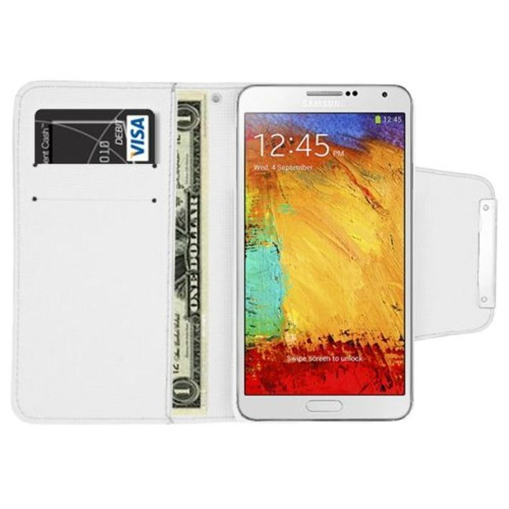 Insten Leather Case Cover with Wallet Flap Pouch For Samsung Galaxy Note 3 #2361130