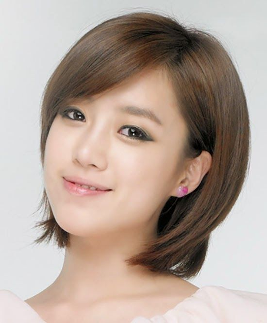 Korean Layered Short Hairstyles for Women