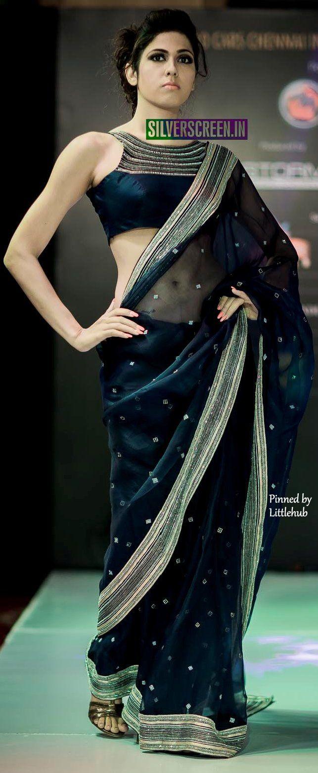 Six yard- The Saree ❤•。*゚||An elegant saree.
