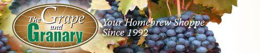Grape and Granary recipe: concord wine from grapes