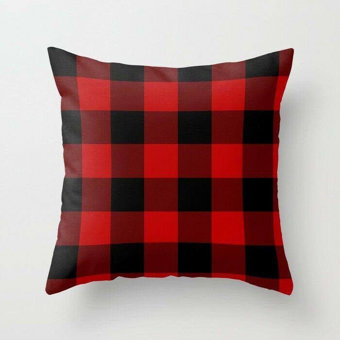 Pillow Cover | Plaid throw pillows