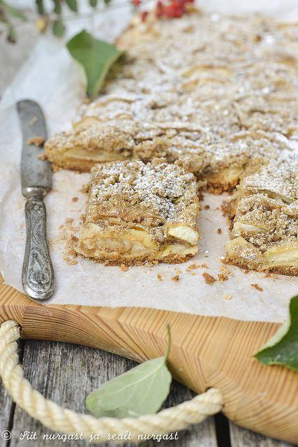 Õunakook Juubeli tordipulbrist põhjall/Apple tray bake