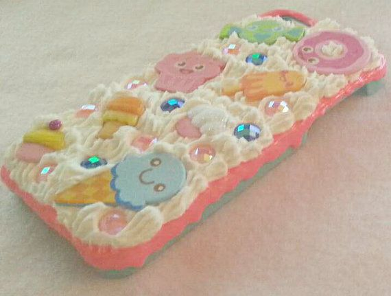 iPhone 5 / 5S Kawaii Decoden Case by KissedByACloud on Etsy