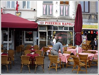 Eat Pizza in Naples, Italy.