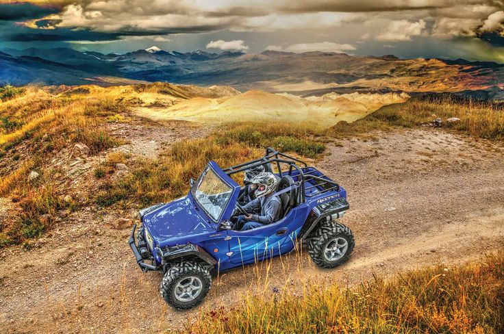 Reeper, the versatile, tough and stable ATV off-road vehicle by Oreion Motors. Reeper delivers on versatility and dependability. Enjoy the ride.