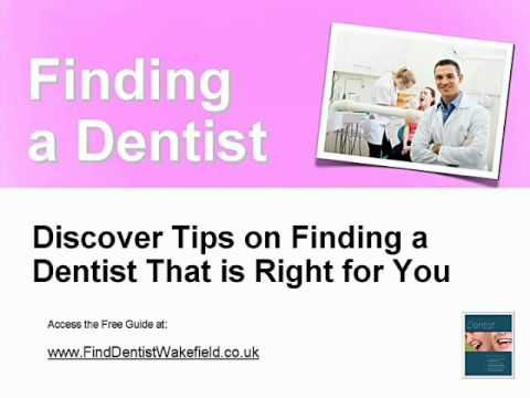 Cosmetics USA - Find Dentist Wakefield - How to choose Dentist in Wakefield Family or cosmetic or childrens dentist