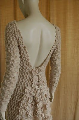 Innovative crochet.  The site isn't in English, and doesn't seem to have any patterns, but the designs are amazing.