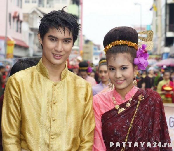 Национальные тайские брюки