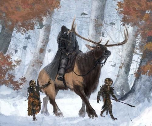 Coldhands and the Children of the forest #got #agot #asoiaf