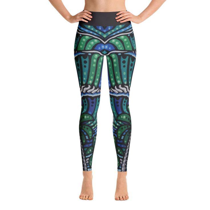 "Kurt Ziegler ""Rincon"" Yoga Leggings"
