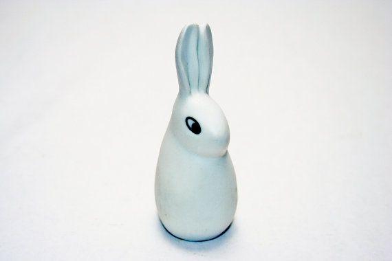 Arabia Helja Bunny by Heljä Liukko-Sundström for Arabia Finland -- Kaj Franck Era Design