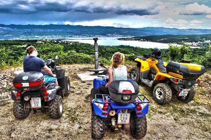 Quad-Safari ab Malinska auf der Insel Krk. Buchen Sie diesen Ausflug in Kroatien bei Kroatien-Liebe!
