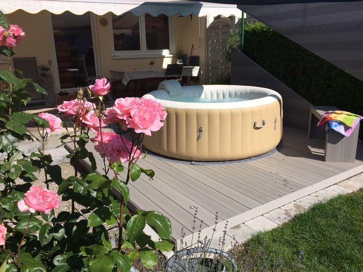 Whirlpool im Garten Whirlpool, Garten ideen