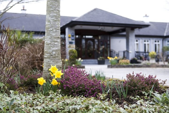 Fitzgerald's Woodlands Hotel in Limerick, Ireland We'll be staying here on our trip. They have a pet goat!