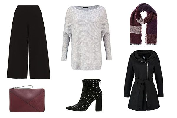 Cómo combinar un culotte en invierno: Outfit