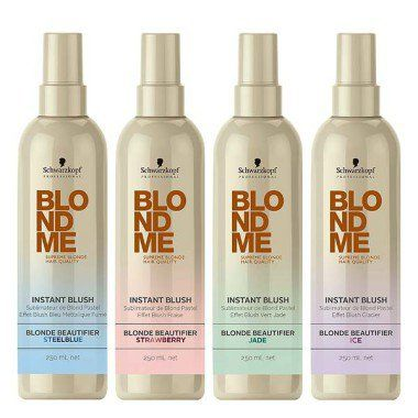 Оттеночный спрей для волос Schwarzkopf Professional BlondMe Instant Blush Spray Blonde Beautifier  фото