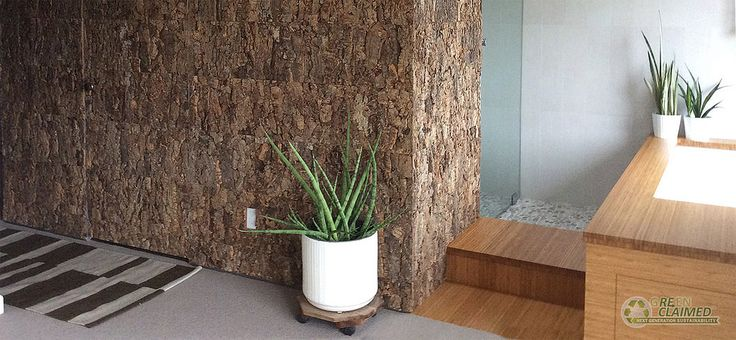 Cork Panel - Tundra Wall Decor Panel | GreenClaimed® - Cali Bamboo  Would be inclined to seriously consider but they don't extend their shipping offers to Alaska.