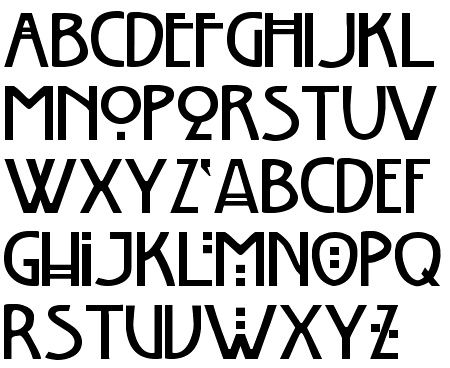 art article upon charles rennie mackintosh font