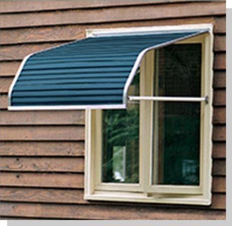 Series 4100 Aluminum Window Awning