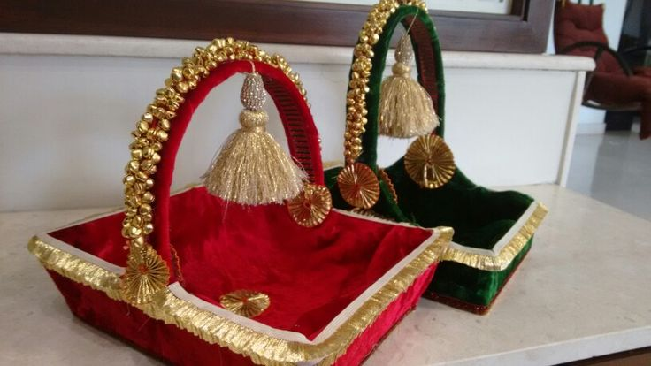 Indian Wedding Gift Decoration : ... Wedding Dala Decorations on Pinterest Wedding, Pagri and Mehendi