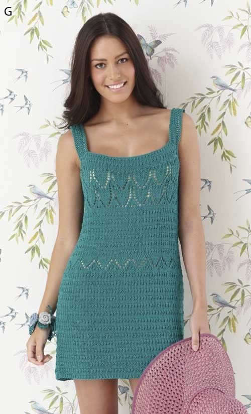 Knitting Summer Dress : Best images about dress knitting patterns on pinterest