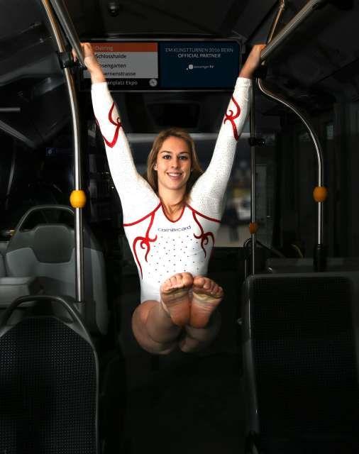 Giulia Steingruber: «Habe schon als kleines Meitli im Bus rumgeturnt»   Blick